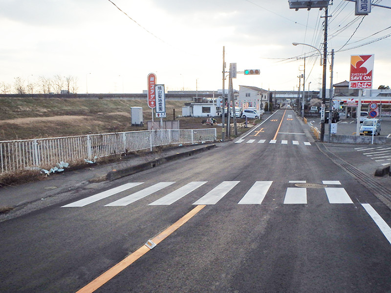 坂戸市下大塚・中里・粟生田地内の写真