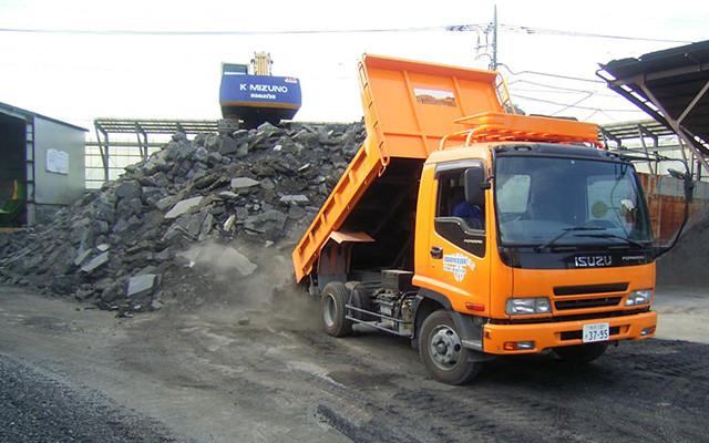 産業廃棄物収集 運搬の写真